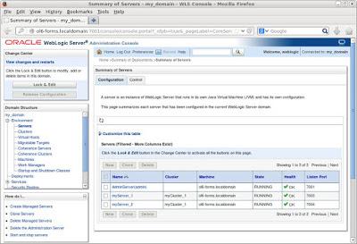 Oracle DBA, Oracle Database, WebLogic Server, Oracle Database
