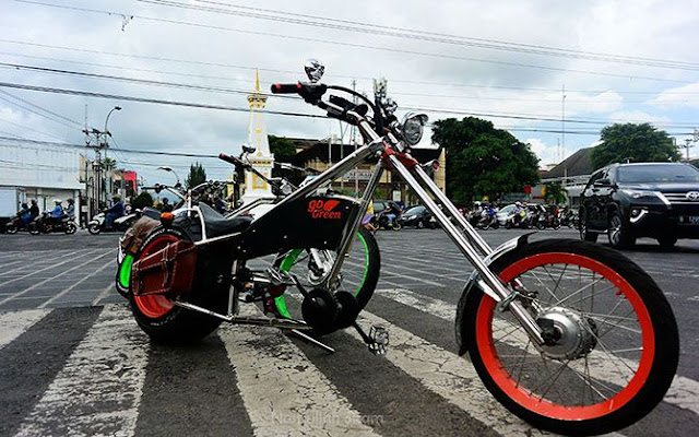 SELIGED, Sepeda Listrik Gede Pertama di Indonesia