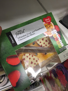 Tesco Finest Passion Fruit & Raspberry Cheesecake Slices