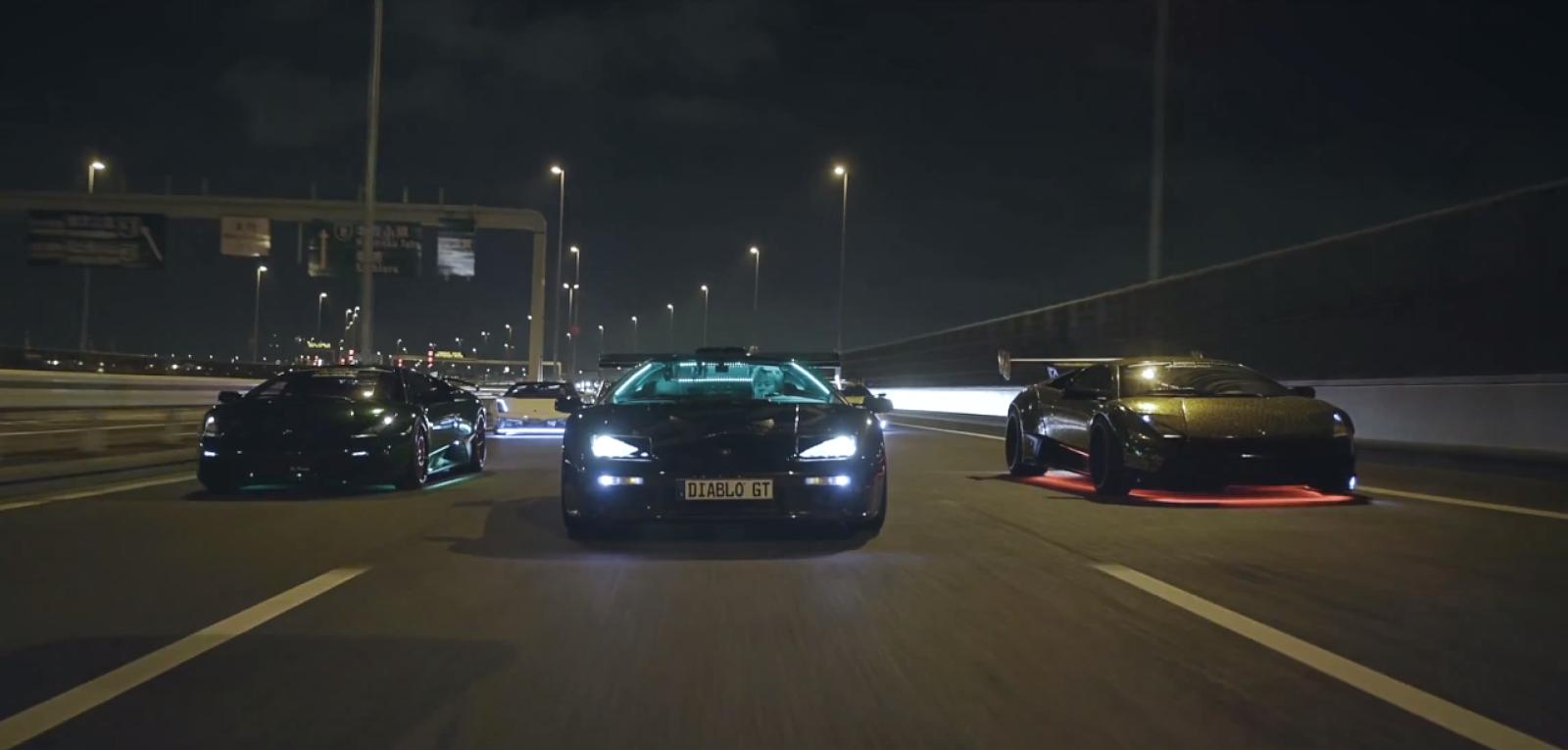okokno : Lamborghini's of Japan's Yakuza underworld ...