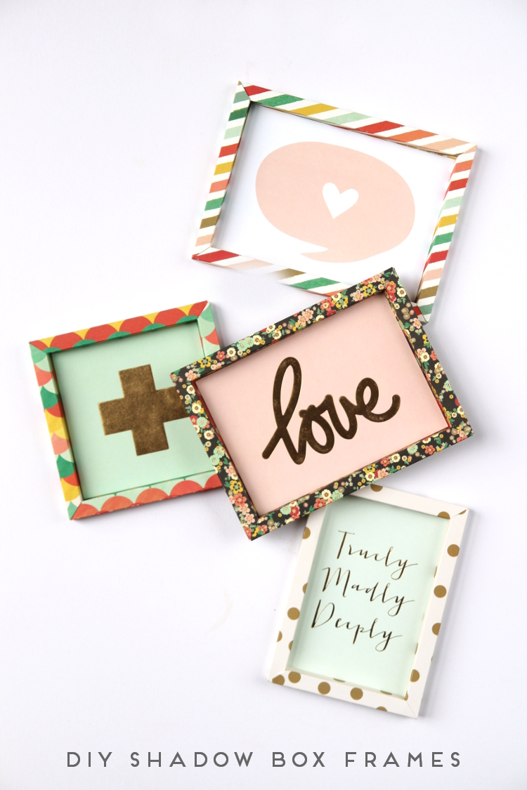 learn how to make your own custom diy 3d shadow box paper frames