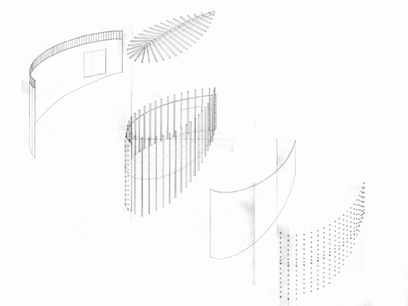 J-turn: St. Benedict Chapel by Peter Zumthor: 1:30 Scale Model