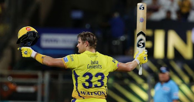 Shane Watson Top 5 batting performances of the IPL 2018
