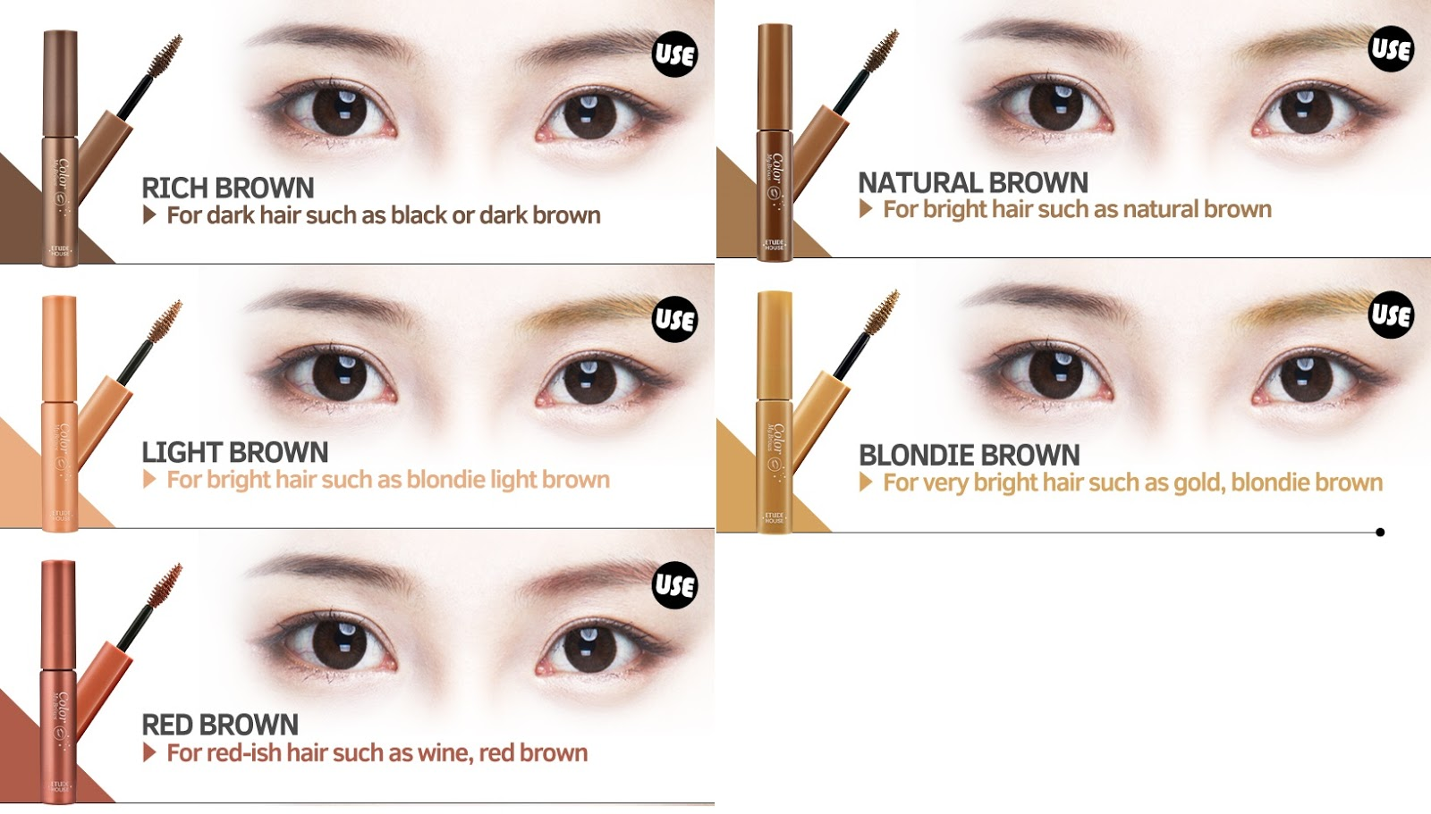 Etude House Drawing Eye Brow Color My Brows Review Fishmeatdie
