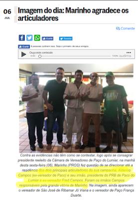 STJ mantém decisão de desembargador do MA contra eleição forjada por Marinho do Paço