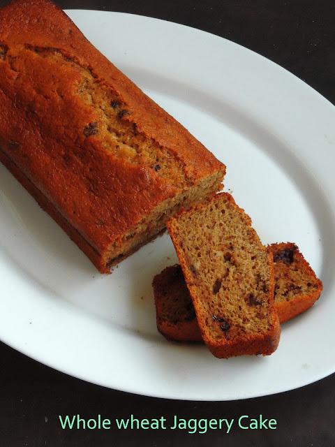 Healthy Jaggery Cake