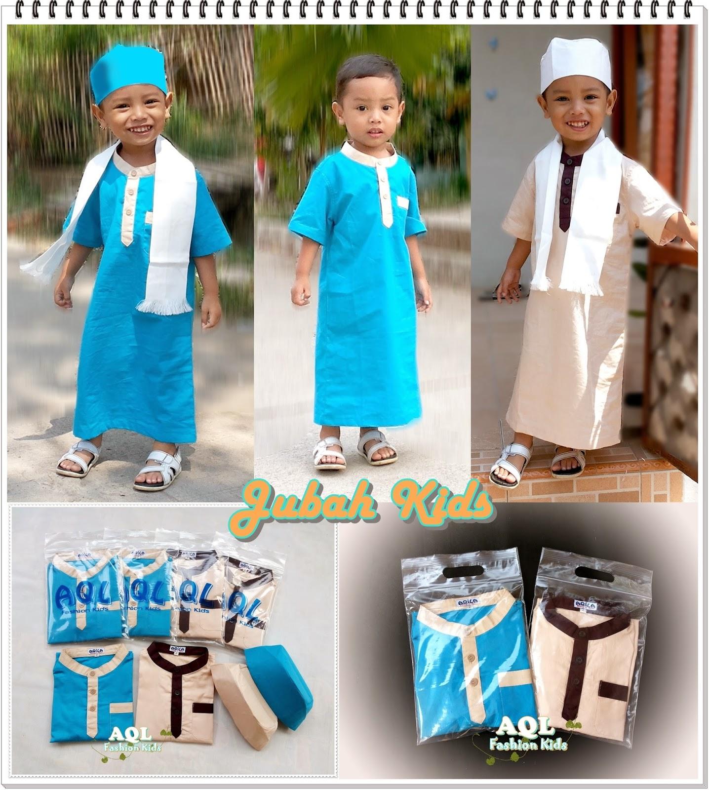 Produsen Sarung Instan Turban Baby Dan Pakaian Anak Jubah Kids