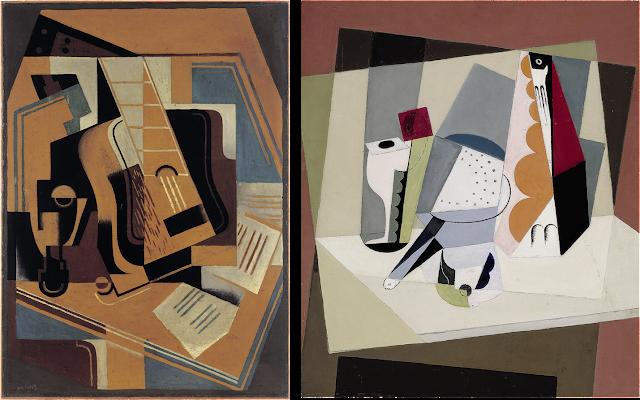 Quadres Cubisme i Guerra