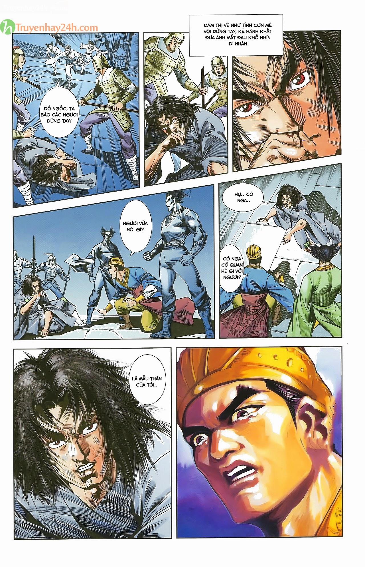 Tần Vương Doanh Chính chapter 29.1 trang 6