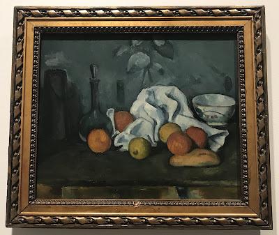 Hermitage Museum's Paul Cézanne oil painted still-life entitled Fruit, 1879/80