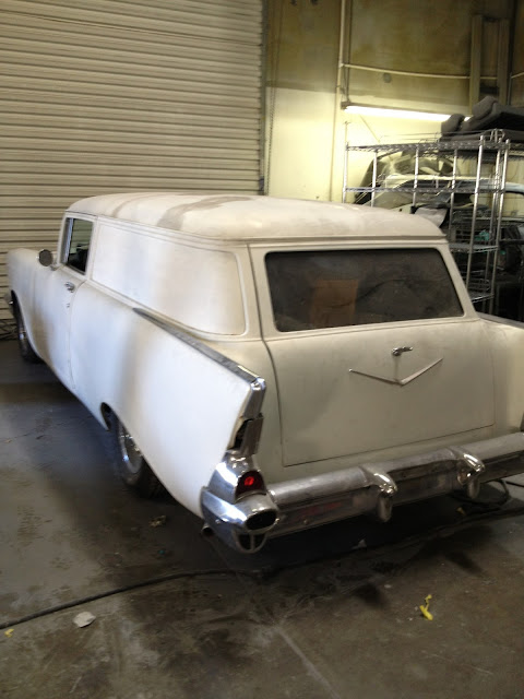 STYLISH KUSTOMS: 1957 Chevy Seden Delivery For Sale...