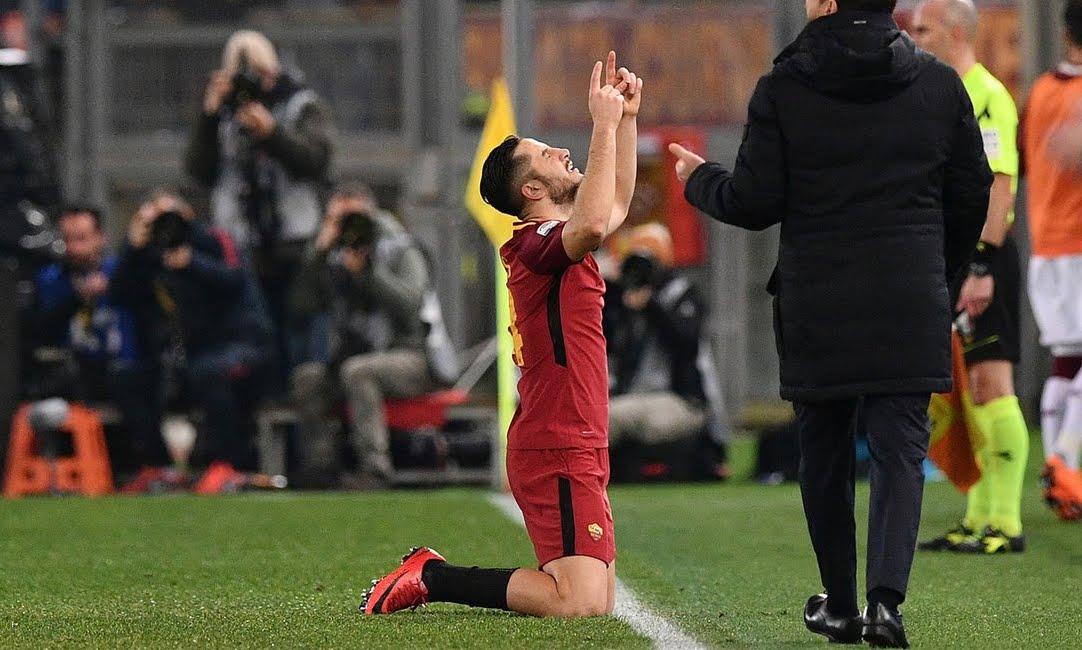 Roma-Torino è terminata 3-0 con gol di Manolas, De Rossi e Pellegrini