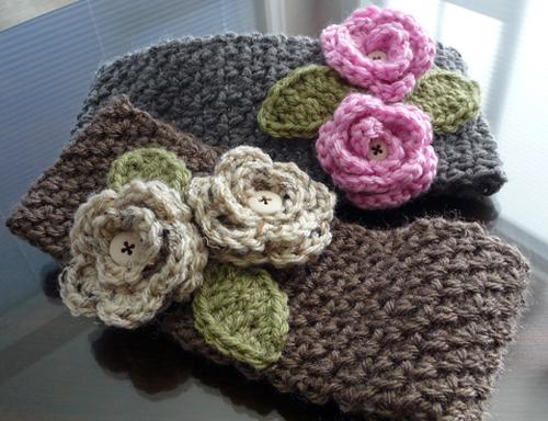 Free Crochet Wide Headband Pattern