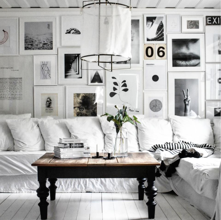 A White Scandinavian Country House With Muted Color Palette And Lots Of Charming Details