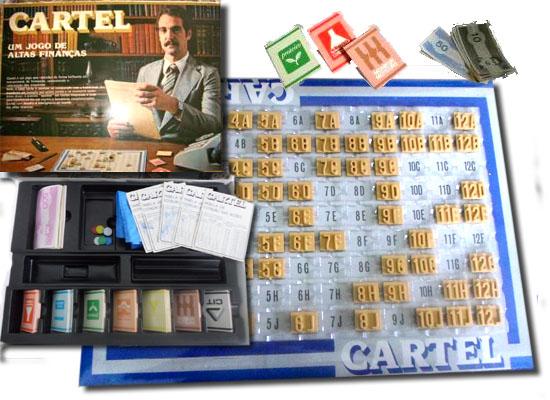 11 Jogos tabuleiro - Cartel