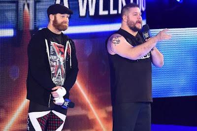 WWE Daniel Bryan Owens Sami Zayn Shane McMahon SmackDown LIVE