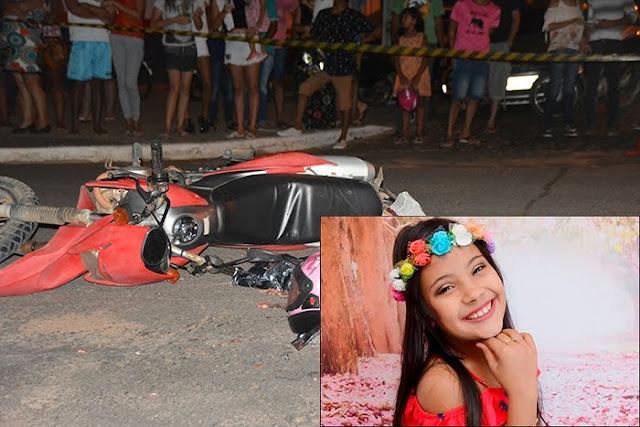 Criança de 10 anos morre esmagada por caminhão, após motorista bêbado invadir a preferencial