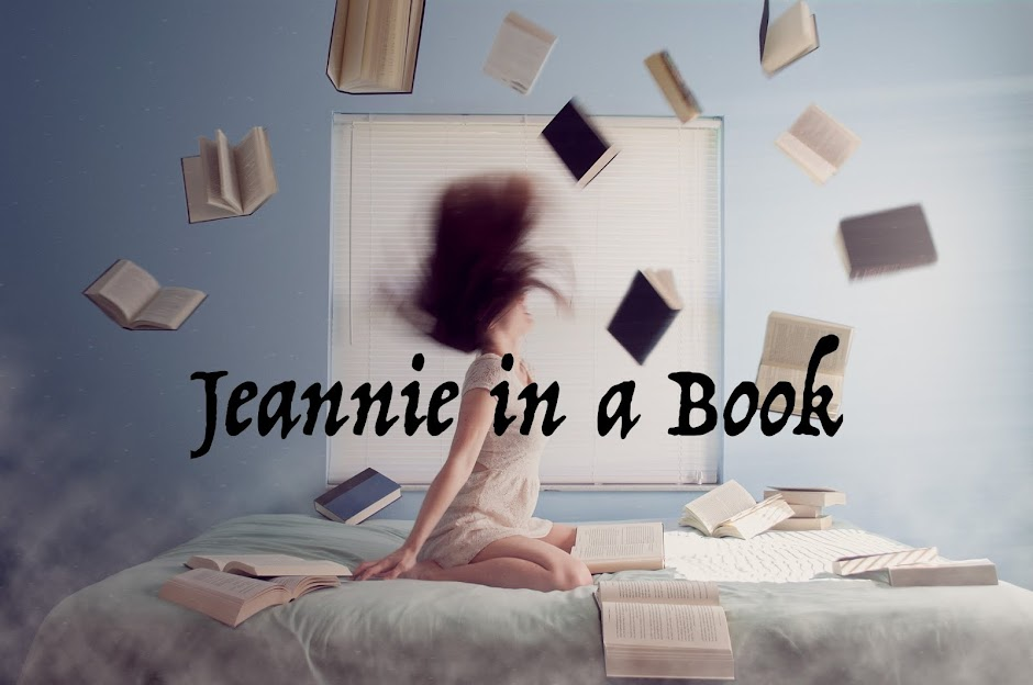 Jeannie in a book