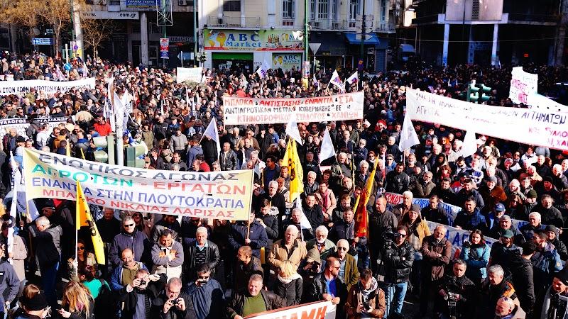 Μαζικό και μαχητικό το αγροτικό συλλαλητήριο