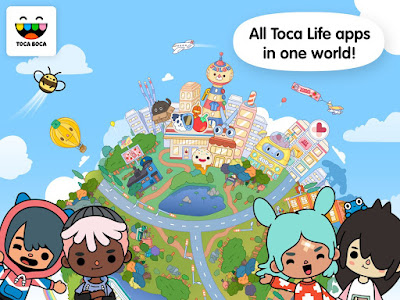 Toca Life: World Mod Unlocked Apk + OBB For Android