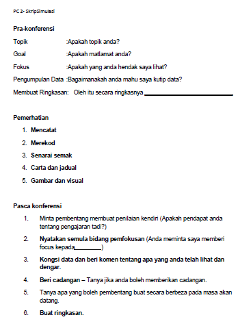 Plc Peer Coaching Demi Pembelajaran Abad Ke 21 Free Download Panduan Borang Mykssr Com