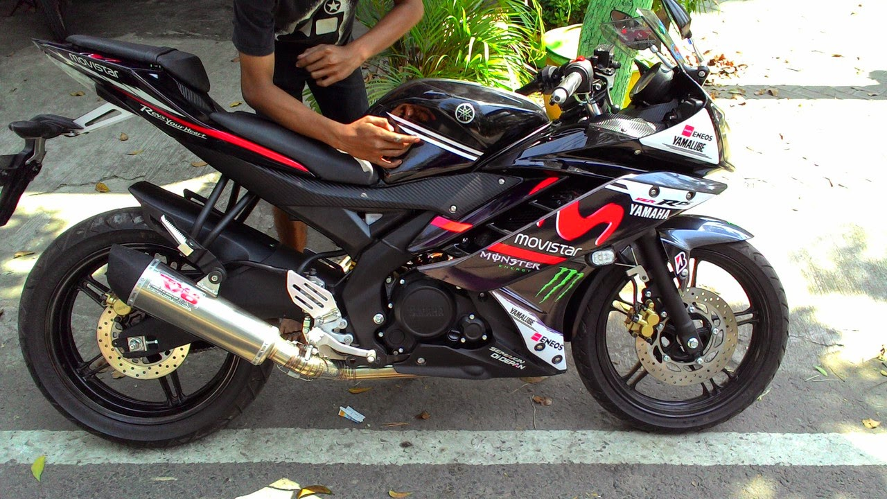 galeri gambar foto modifikasi motor yamaha r15 r25 150cc keren