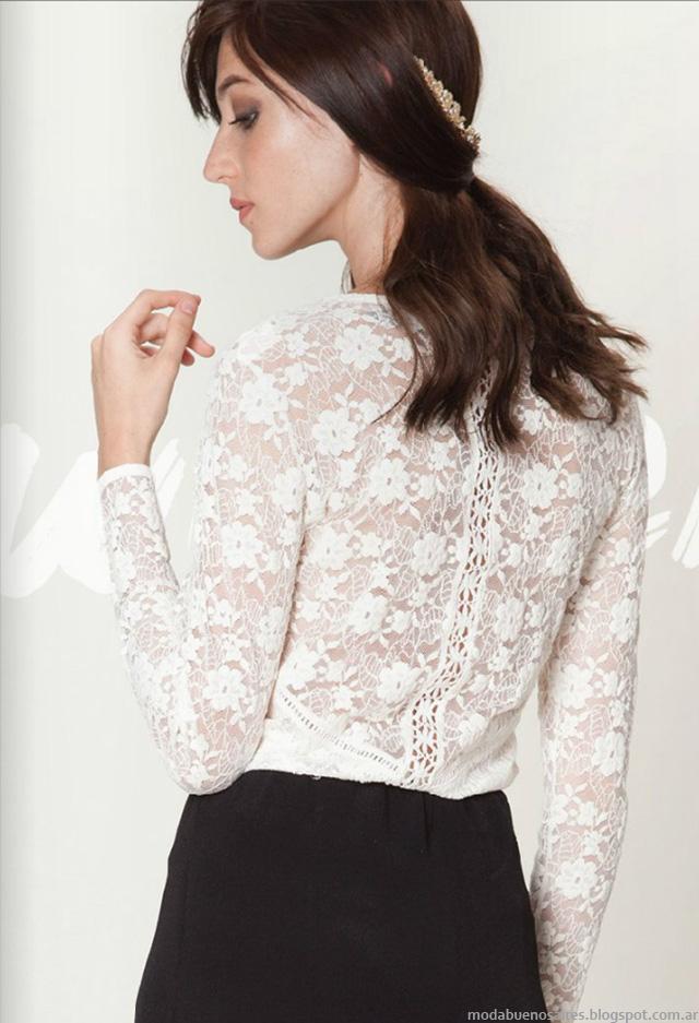 Blusas de moda otoño invierno 2016 Asterisco.