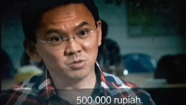 Inilah Video Ahok yang Dianggap Fitnah Demonstran 411 Dibayar Rp 500 Ribu