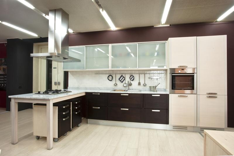 Illuminazione In Cucina Moderna.Arredamento Moderno Illuminazione Cucina Moderna