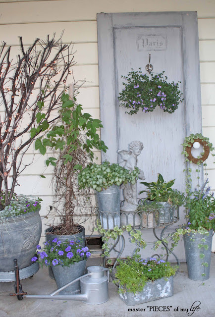 French Style Container Garden