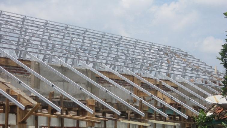 harga baja ringan per batang banten cara praktis menghitung luas atap