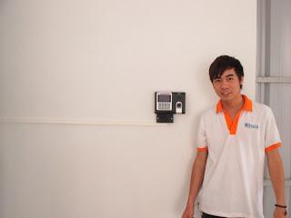 Lắp máy chấm công uy tín tại phường Dư Hàng Kênh