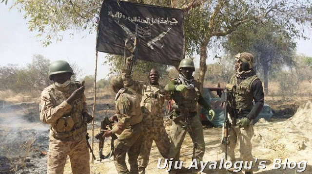 Buhari receives Boko Haram flag, silent on Shekau