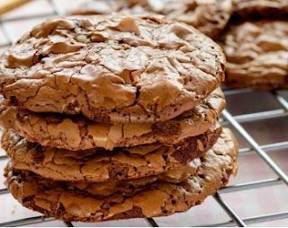 Resepi coklat brownie cookies