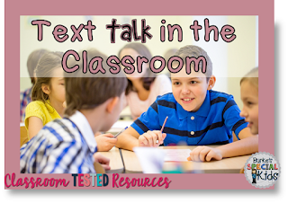 Text talk in the classroom