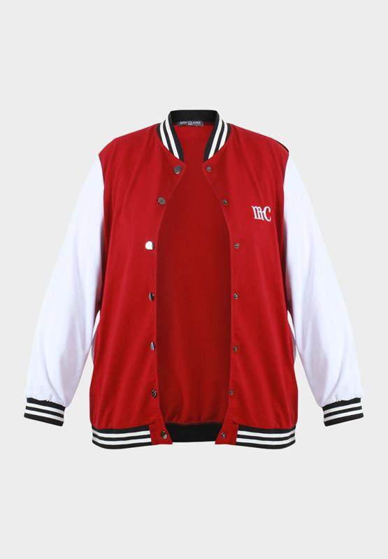 Mis Claire's Plus Size Varsity Jacket