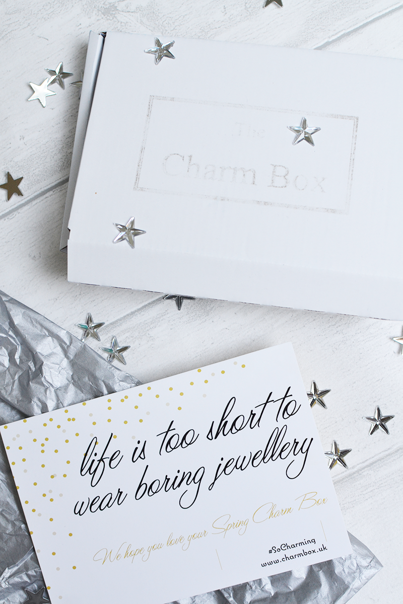 The Charm Box Jewellery Subscription Review Giveaway | Colours and Carousels - Scottish Lifestyle, Beauty and Fashion blog