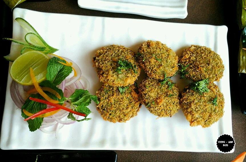 Hara Bhara Kebab @ Churchill's Resto-Bar | JP Nagar | Bangalore