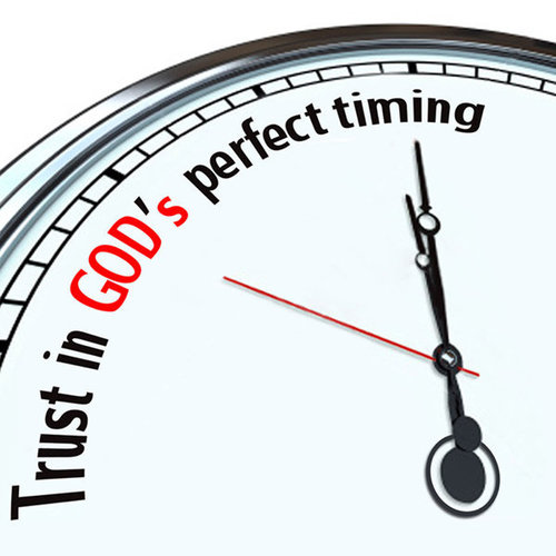Life's Fountain Global: Waiting For God's Perfect Timing