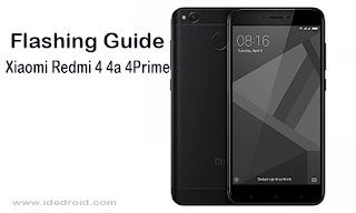 Cara Flashing Xiaomi Redmi 4 4A 4Prime Tested