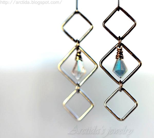 ce377c90e63d4 Arctida's creations: Asteria - Labradorite earrings oxidized ...