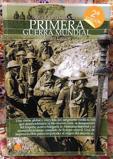 Portada del libro Breve historia de la Primera Guerra Mundial, de Álvaro Lozano