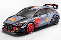 Hyundai i20 Coupe WRC 2017 Front Side