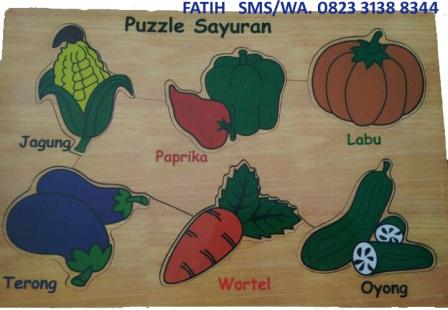 Game Puzzle Sayuran