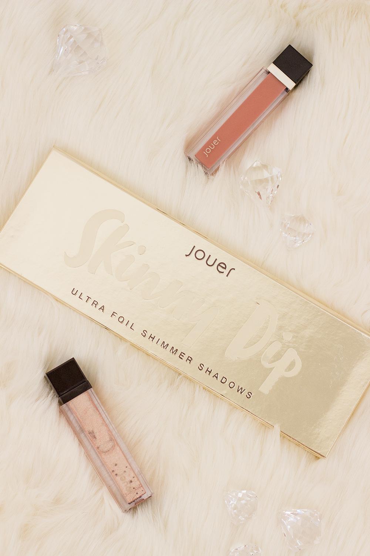 Jouer Skinny Dip Ultra Foil Shimmer Eyeshadow Palette Flatlay