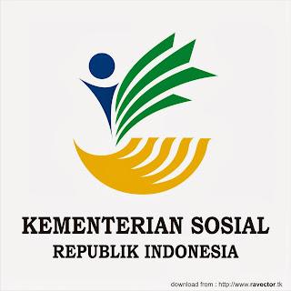 Download Logo Kementerian Sosial Republik Indonesia (KEMENSOS) Vector