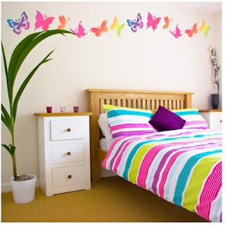 cómo agregar detalles coloridos al cuarto habitación dormitorio