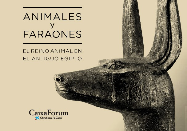 The animal kingdom in Ancient Egypt at the Caixa Forum, Madrid