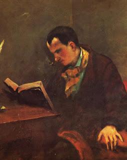 pintura baudelaire poeta frances