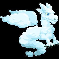 Das Erscheinen des Teenager Wolken-Drache